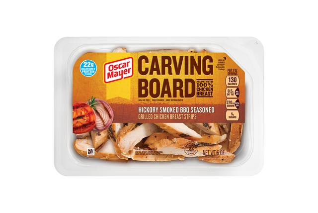 Oscar Mayer Barbeque Grilled Chicken Strips 6Oz