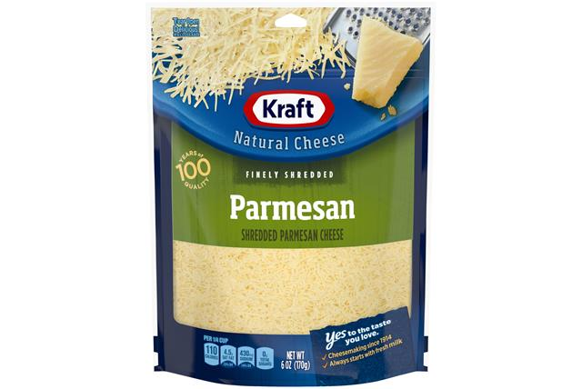 Kraft Parmesan Finely Shredded Natural Cheese 6 Oz Bag