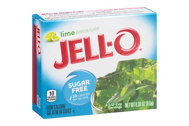Jell-O Gelatin Lime Sugar Free 0.3 Oz Box
