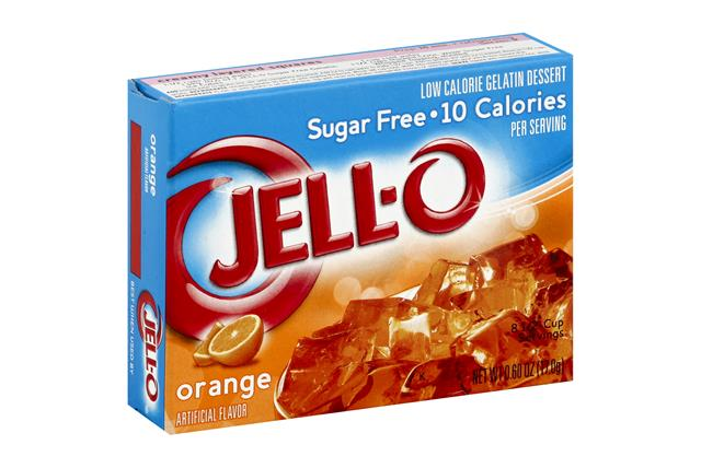 Jell-O  Gelatin Orange Sugar Free 0.6 Oz Box