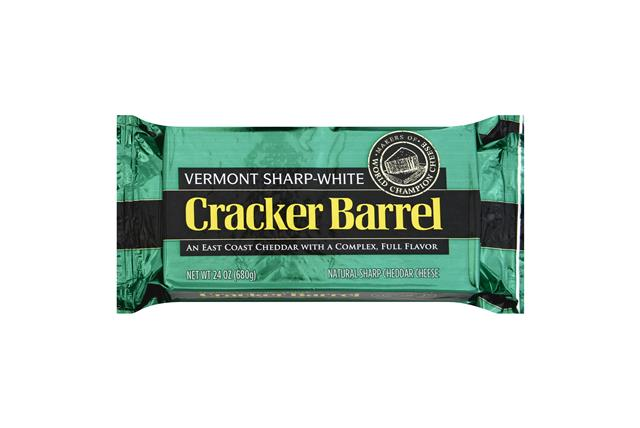 Cracker Barrel Vermont Sharp Cheddar Cheese