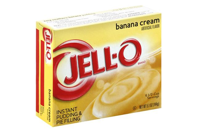 Jell-O Pudding-Instant  Banana Cream 5.1 Oz Box