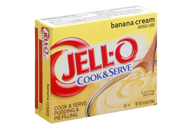 Jell-O Pudding-Cook & Serve Banana 4.6 Oz Box