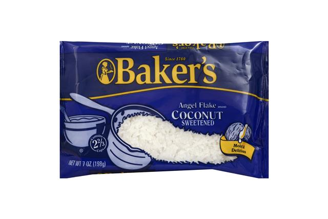 Baker's Sweetened Angel Flake Coconut 7 Oz. Bag