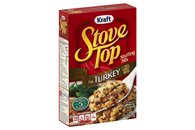 Kraft Stove Top Turkey Stuffing Mix 6 oz. Box