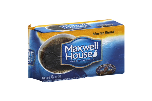 Maxwell House Master Blend Ground Coffee 11.5 oz. Brick