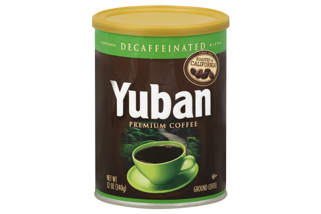 Yuban Original Decaffeinated Coffee 12 Oz Canister