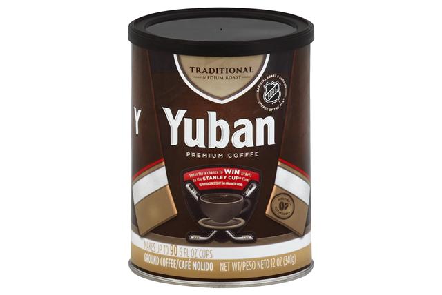Yuban Traditional Medium Roast Ground Coffee 12 oz. Canister