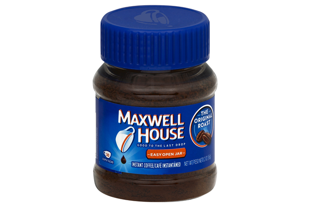 Maxwell House Instant Original Coffee 2 Oz Plastic Jar