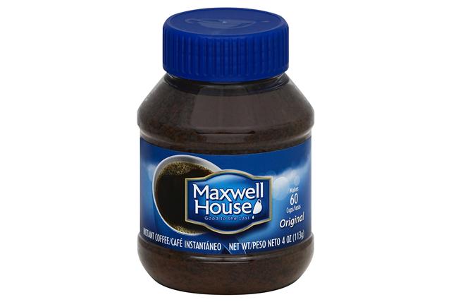 Maxwell House Original Instant Coffee 4 oz. Jar
