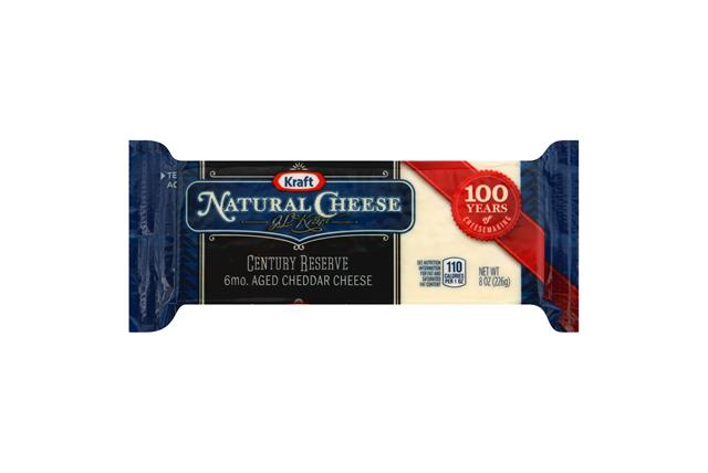 Kraft Natural Century Reserve 6Mo. Aged Cheddar Cheese