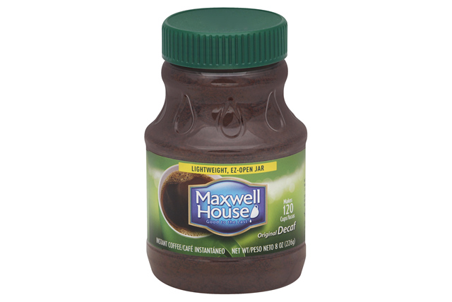 Maxwell House Original Decaf Instant Coffee 8 oz. Jar