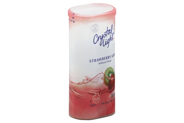 CRYSTAL LIGHT MULTISERVE Strawberry Kiwi Sugar Free 2.3 oz. Packet