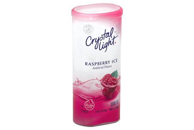 CRYSTAL LIGHT MULTISERVE Raspberry Ice Sugar Free 1.3 oz. Packet