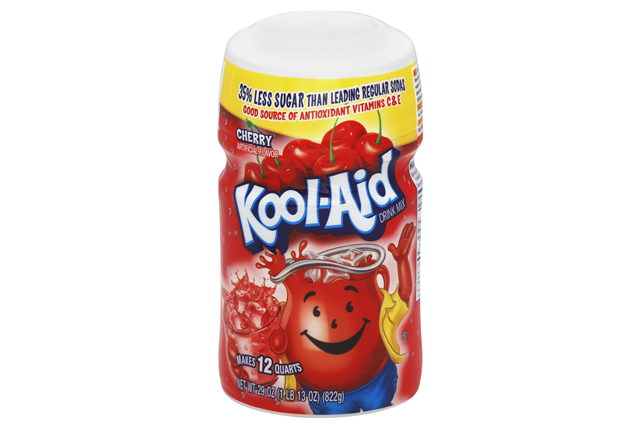 Kool-Aid Cherry Sugar-Sweetened Caffeine Free Soft Drink Mix 29 Oz Canister