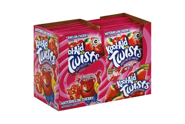 KOOL-AID Twists Watermelon Cherry