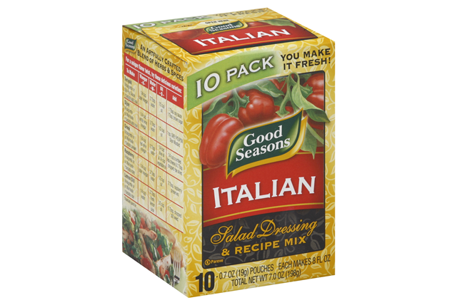 GOOD SEASONS Italian Salad Dressing Mix 10PK
