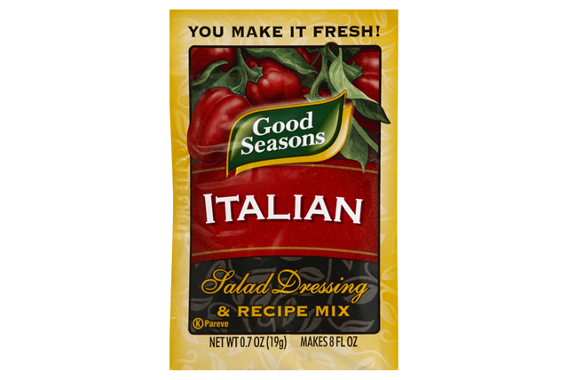 Good Seasons Italian All Natural Salad Dressing & Recipe Mix .7 Oz Packet