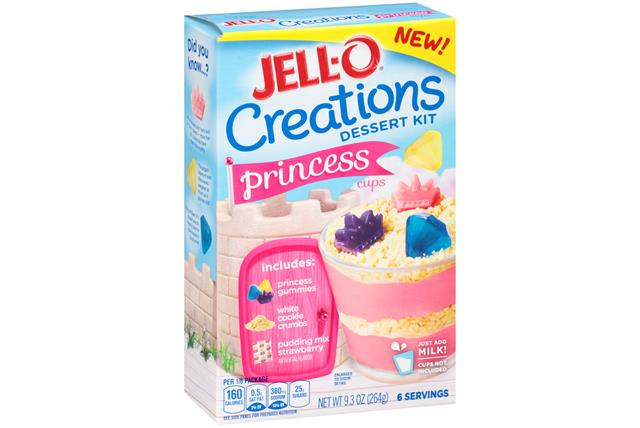 Jell-O Creation Kits Princess Cups 9.3Oz