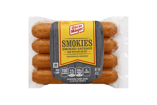 Oscar Mayer Smokie Links on oscar mayer sausage nutrition