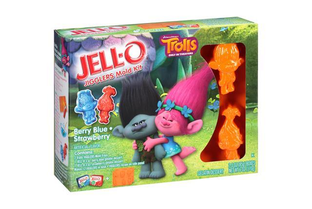 Jell-O Mold Kit Trolls