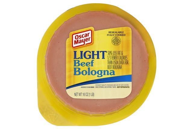 OSCAR MAYER Cold Cuts Light Beef Bologna 16oz Well