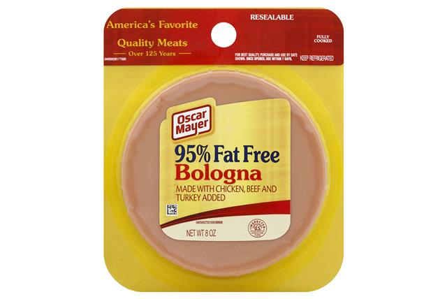 OSCAR MAYER Cold Cuts Fat Free Bologna 8oz Pack