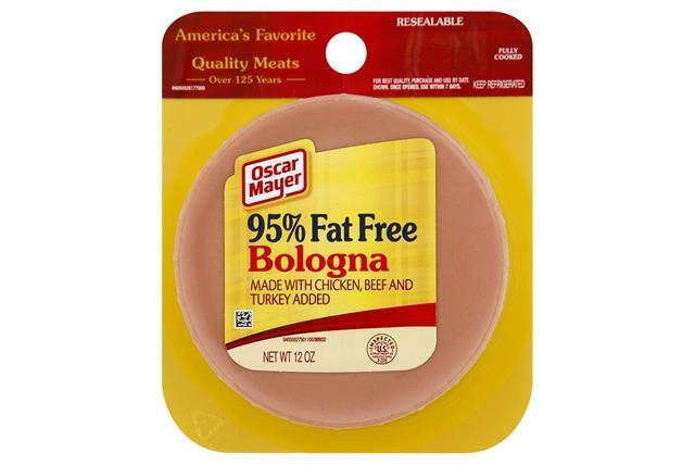 OSCAR MAYER Cold Cuts Fat Free Bologna 12oz Pack
