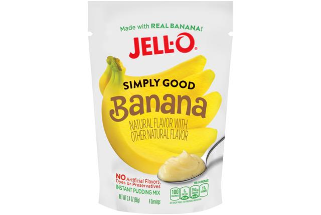 Banana Jell-O Simply Good Pudding - 3.4 Oz.