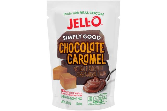 Chocolate Caramel Jell-O Simply Good Pudding - 3.9 Oz.