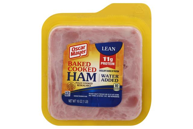 OSCAR MAYER Baked Red Meat Ham 16oz Pack