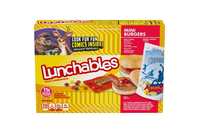 Lunchables Deli Kit Burger 9.4 Oz Box