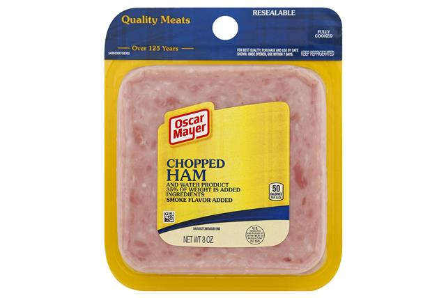 OSCAR MAYER Chopped Ham 8oz Pack