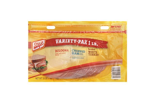 OSCAR MAYER Bologna Smoked Turkey/Ham Combo 12oz Pack
