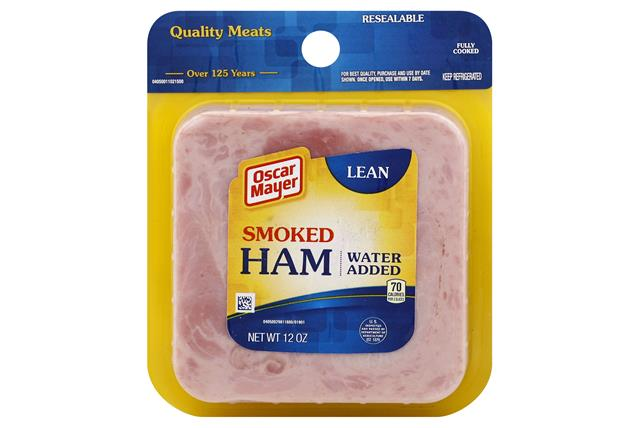 OSCAR MAYER Lean Smoke Cooked Ham 12oz Pack
