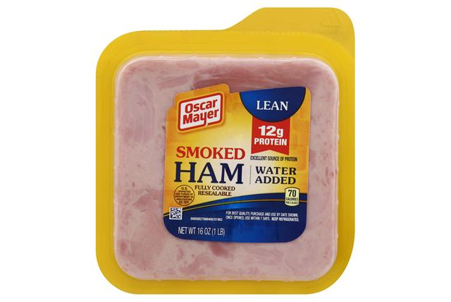 Oscar Mayer Lean Smoked Cooked 1668 on oscar mayer deli fresh honey ham