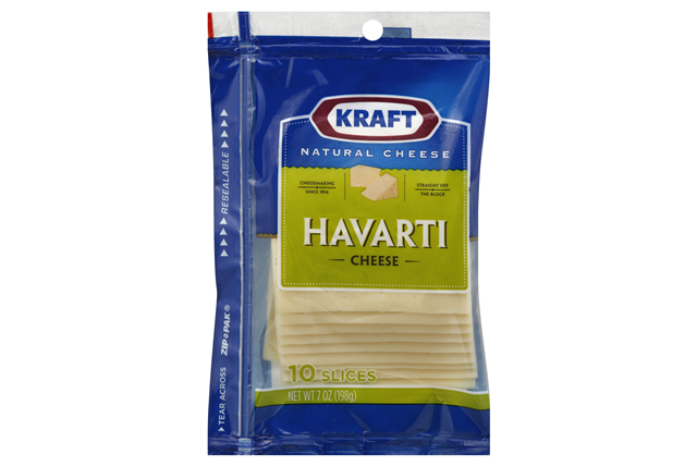 Kraft Havarti Cheese Slices - 10Ct