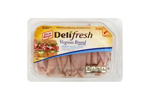 OSCAR MAYER Deli Fresh Ham Virginina Ham 9oz Tray