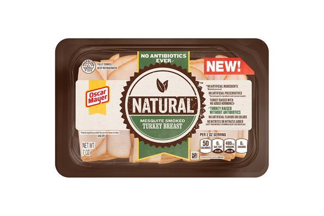 Oscar Mayer Natural No Antibiotics Ever Mesquite Smoked Turkey Breast 7Oz
