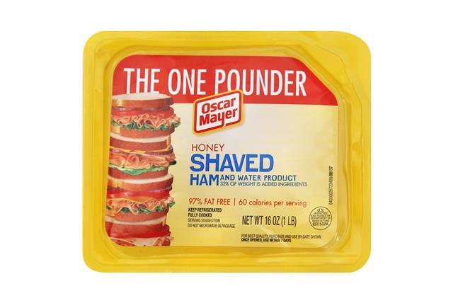 OSCAR MAYER Shaved Honey Ham 16oz Tray