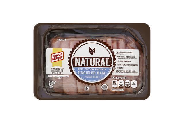 OSCAR MAYER Selects Applewood Smoked Ham 8oz Tray