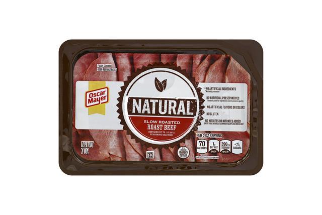 OSCAR MAYER Roasted Roast Beef 7oz Tray