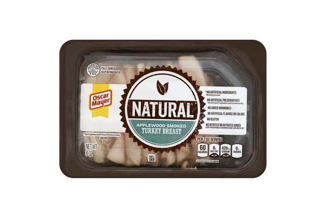 OSCAR MAYER Applewood Smoked Turkey Breast 8oz Tray