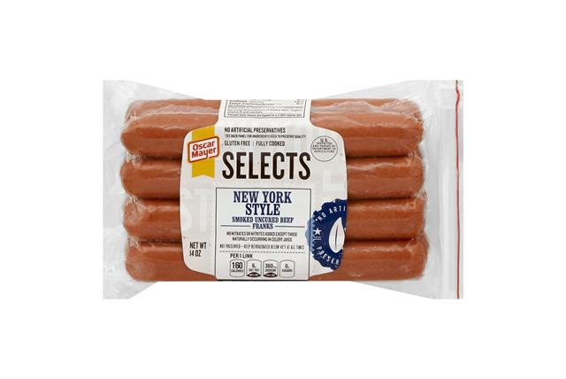 OSCAR MAYER New York Style Angus Beef Franks 14oz Pack