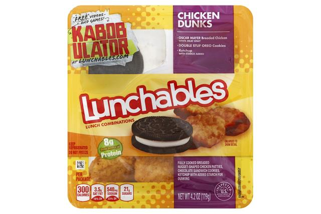 Oscar Mayer Lunchables Chicken 1240 on oscar mayer turkey products