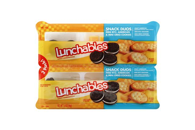 OSCAR MAYER LUNCHABLES Snack Duos 3.4 OZ Tray