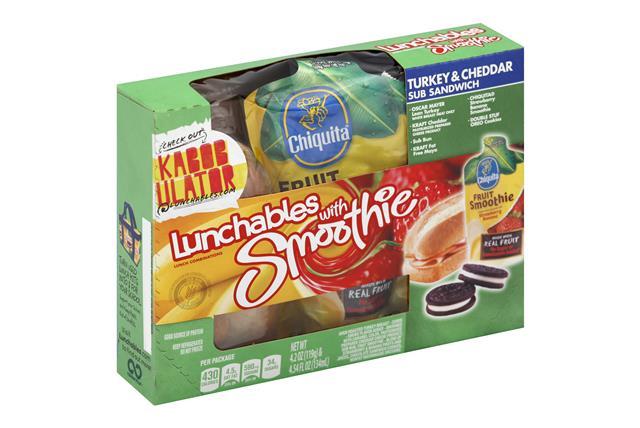 Oscar Mayer Lunchables Lunch Combo Turkey & Cheddar Sandwich W/ Smoothie