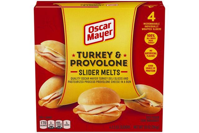 Oscar Mayer Turkey & Provolone Slider Melts
