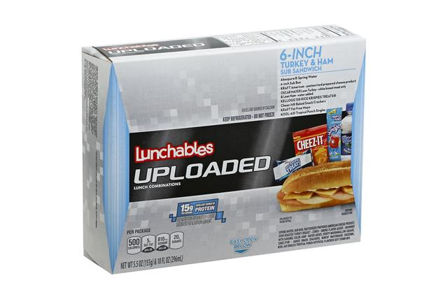 LUNCHABLES CONVENIENCE MEALS-SINGLE SERVE TURKEY AND HAM 15.5 OZ BOX