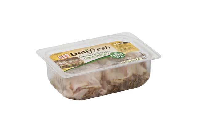 OSCAR MAYER Deli Fresh Cracked Pepper Turkey Breast 16oz Tray